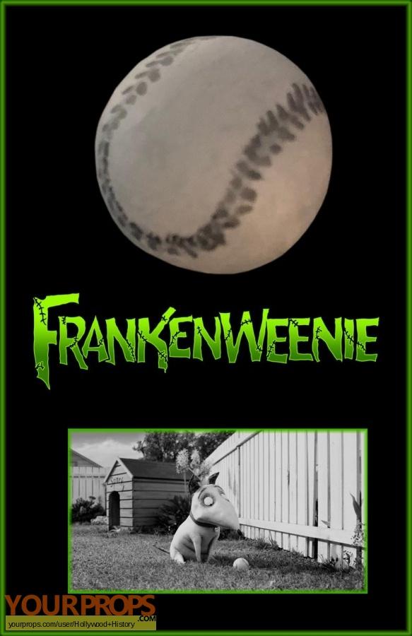 Frankenweenie original movie prop