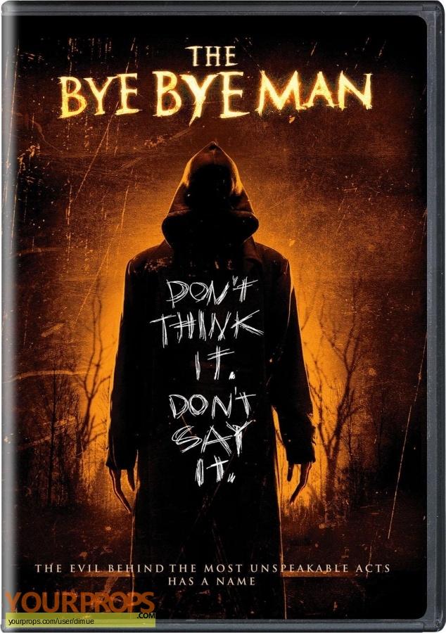 Bye Bye Man original movie prop