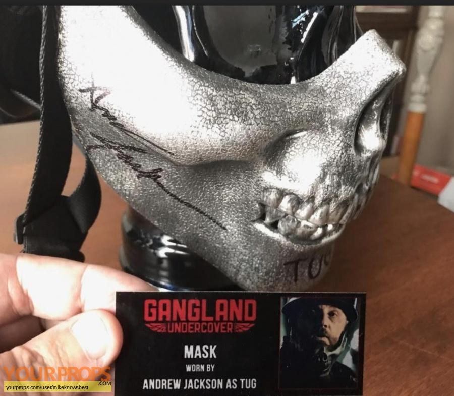 Gangland Undercover original movie prop