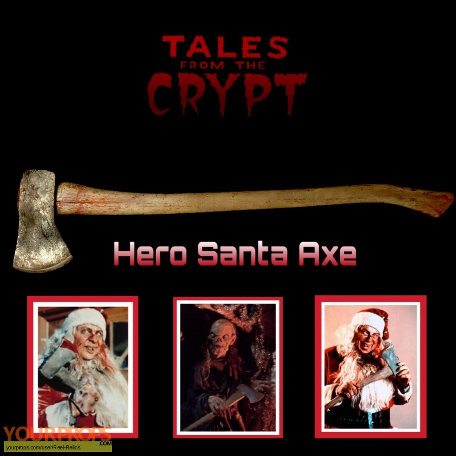 Tales from the Crypt original movie prop weapon