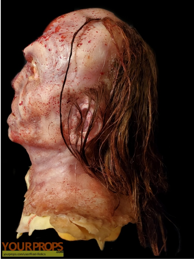 Hatchet 3 original make-up   prosthetics