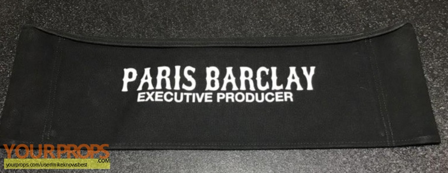Sons of Anarchy original film-crew items