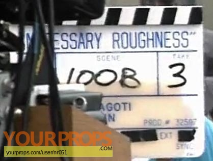 Necessary Roughness original production material