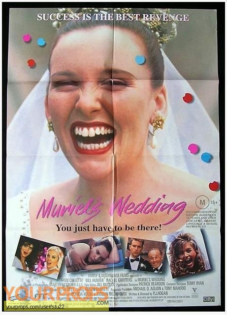 Muriels Wedding original production material