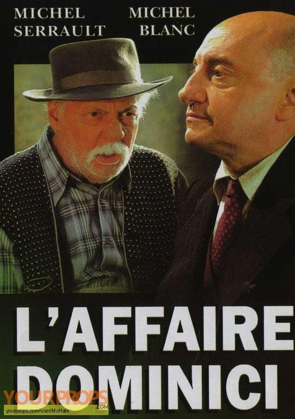 LAffaire Dominici original movie prop