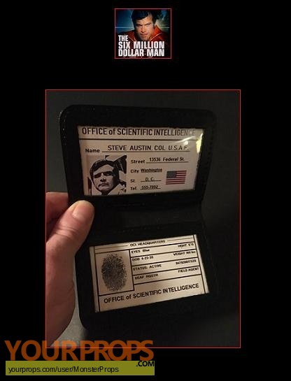 The Six Million Dollar Man replica movie prop