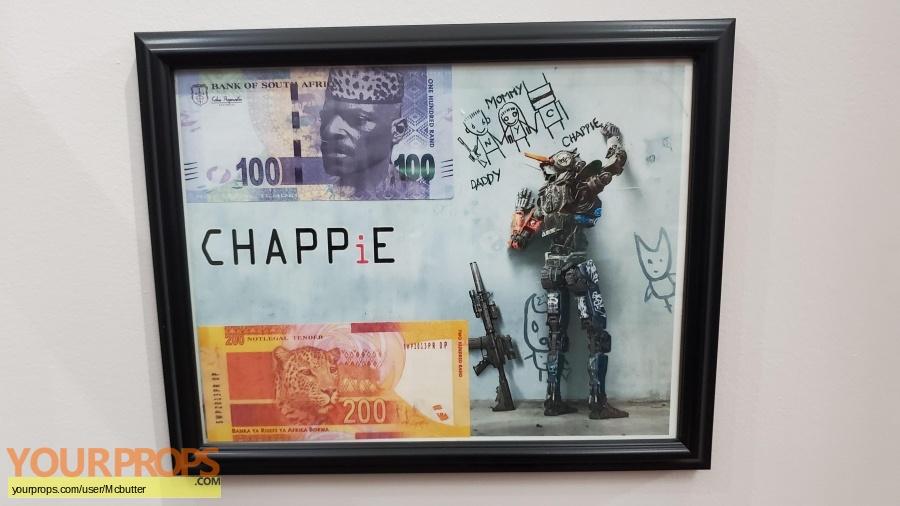 Chappie original movie prop