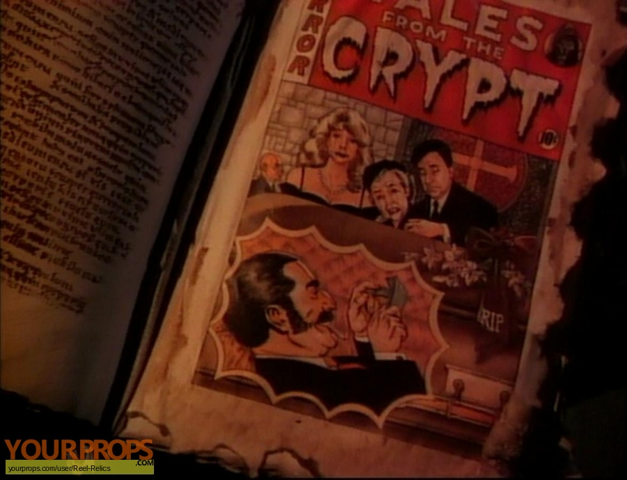 Tales from the Crypt original set dressing   pieces