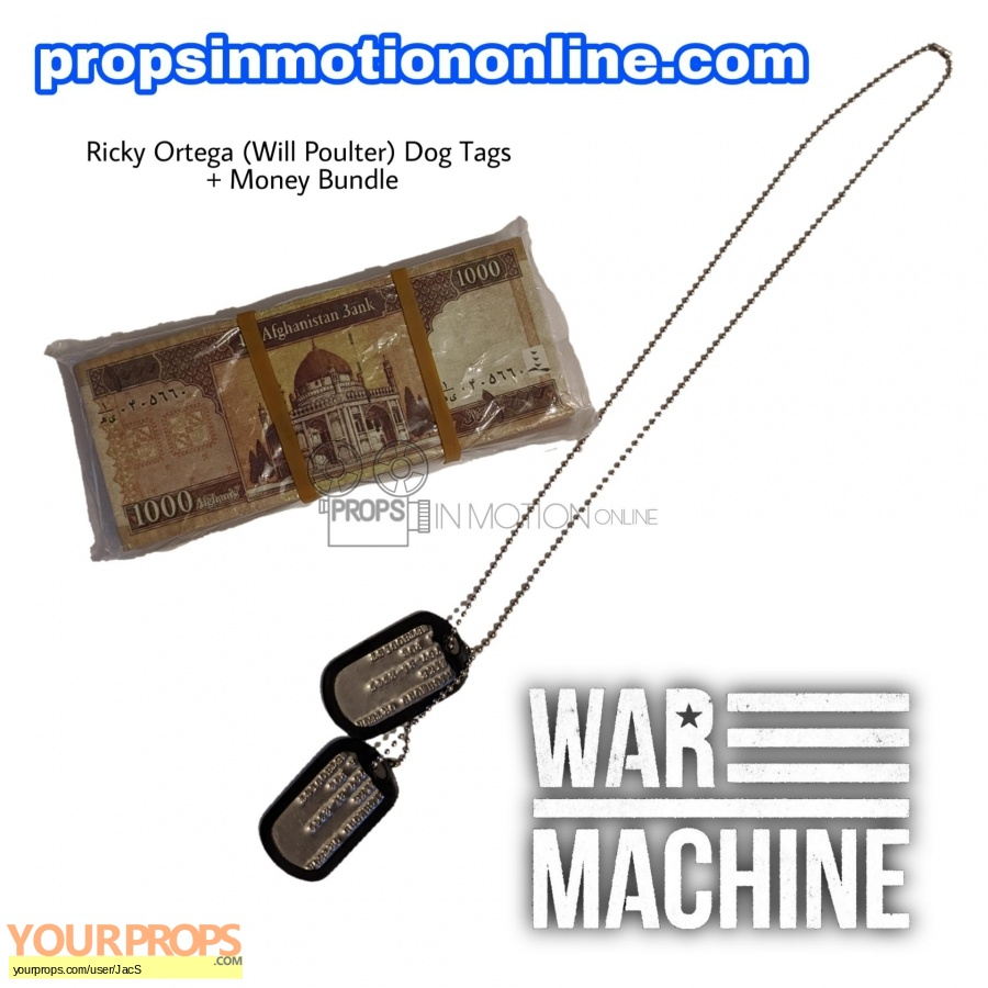 War Machine original movie prop