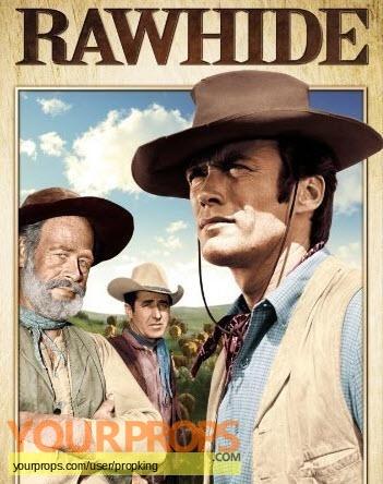 Rawhide (1959 1965) original set dressing   pieces