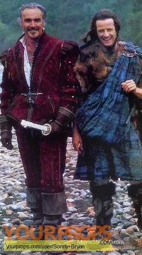 Highlander original movie costume