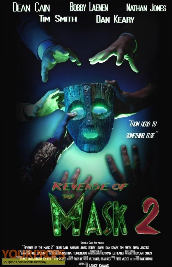 Revenge of the Mask 2 2019 original movie prop