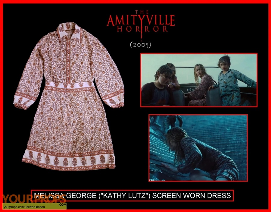 The Amityville Horror original movie costume