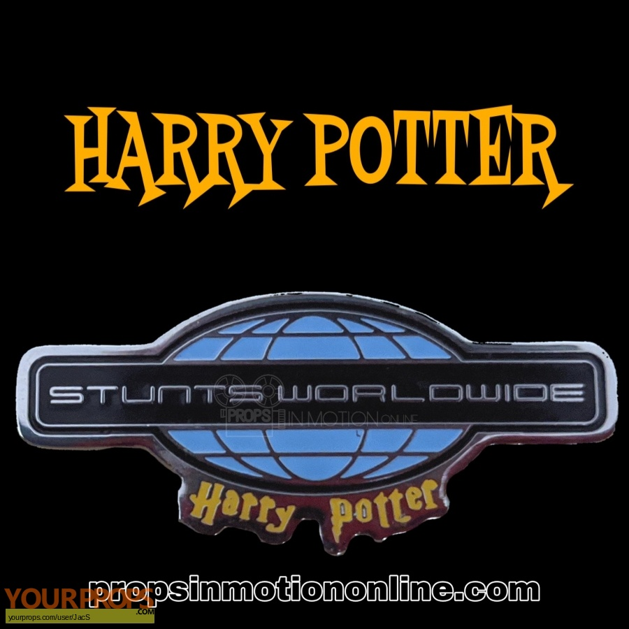 Harry Potter and the Philosophers Stone original film-crew items