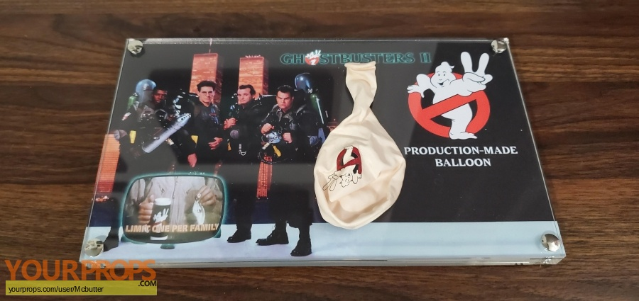 Ghostbusters 2 original production material