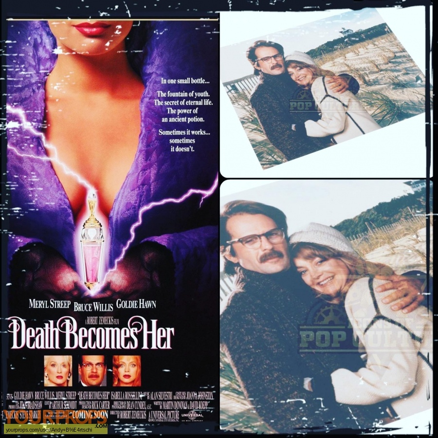 Death Becomes Her original production material