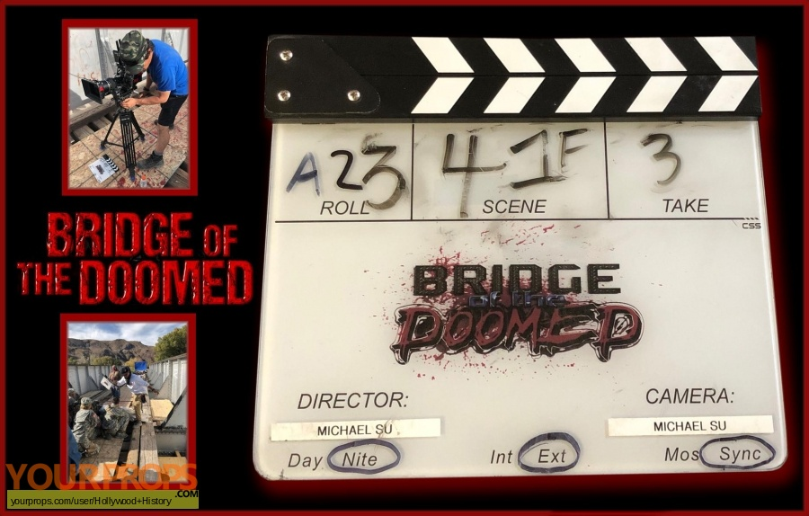 Bridge of the Doomed original production material