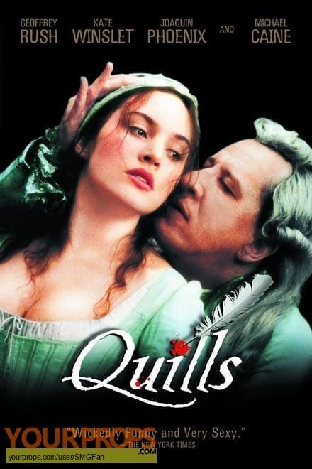 Quills original movie prop