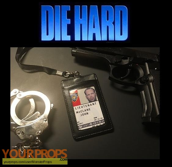 Die Hard 2 replica movie prop