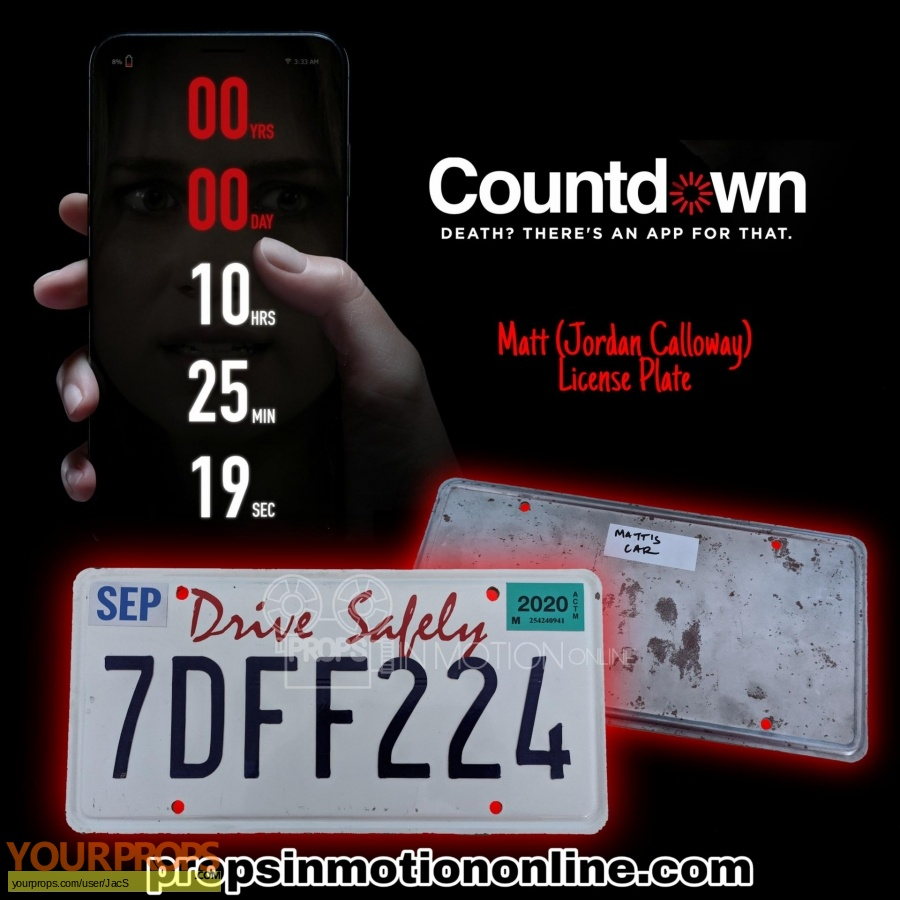 Countdown original movie prop