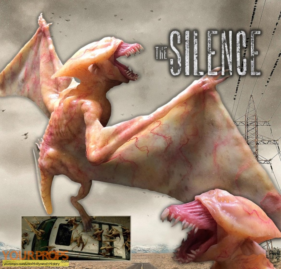 The Silence original movie prop