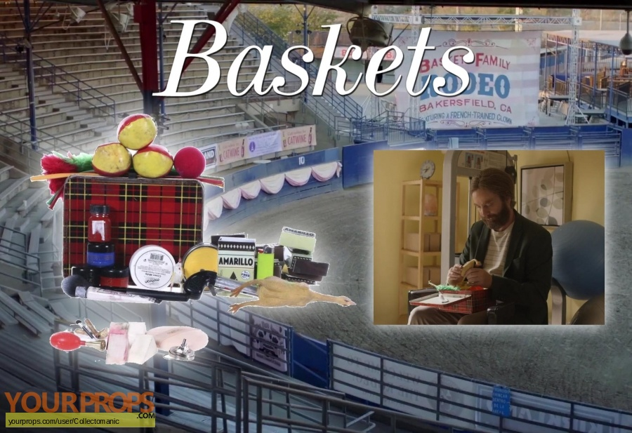 Baskets original movie prop