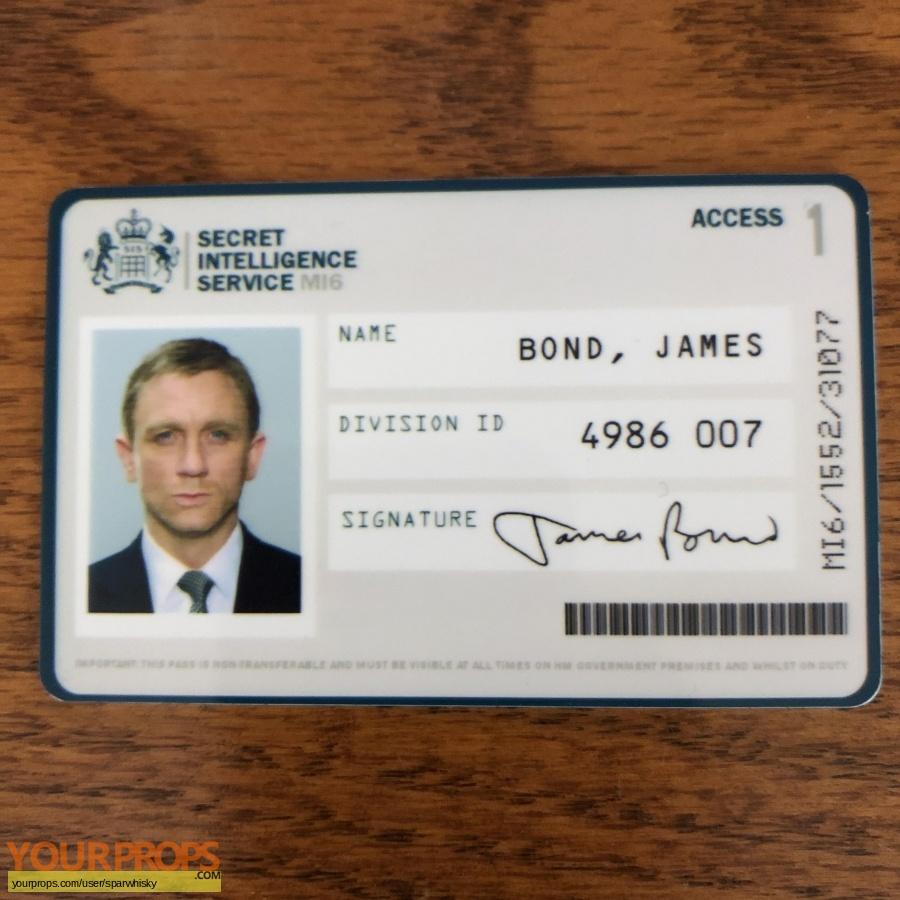 James Bond  Skyfall replica movie prop