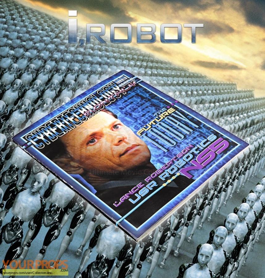 I  Robot original movie prop