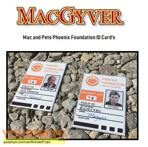 MacGyver replica movie prop