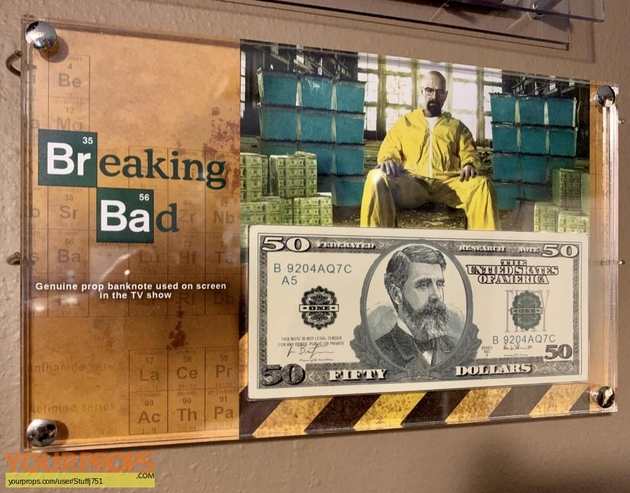 Breaking Bad original movie prop