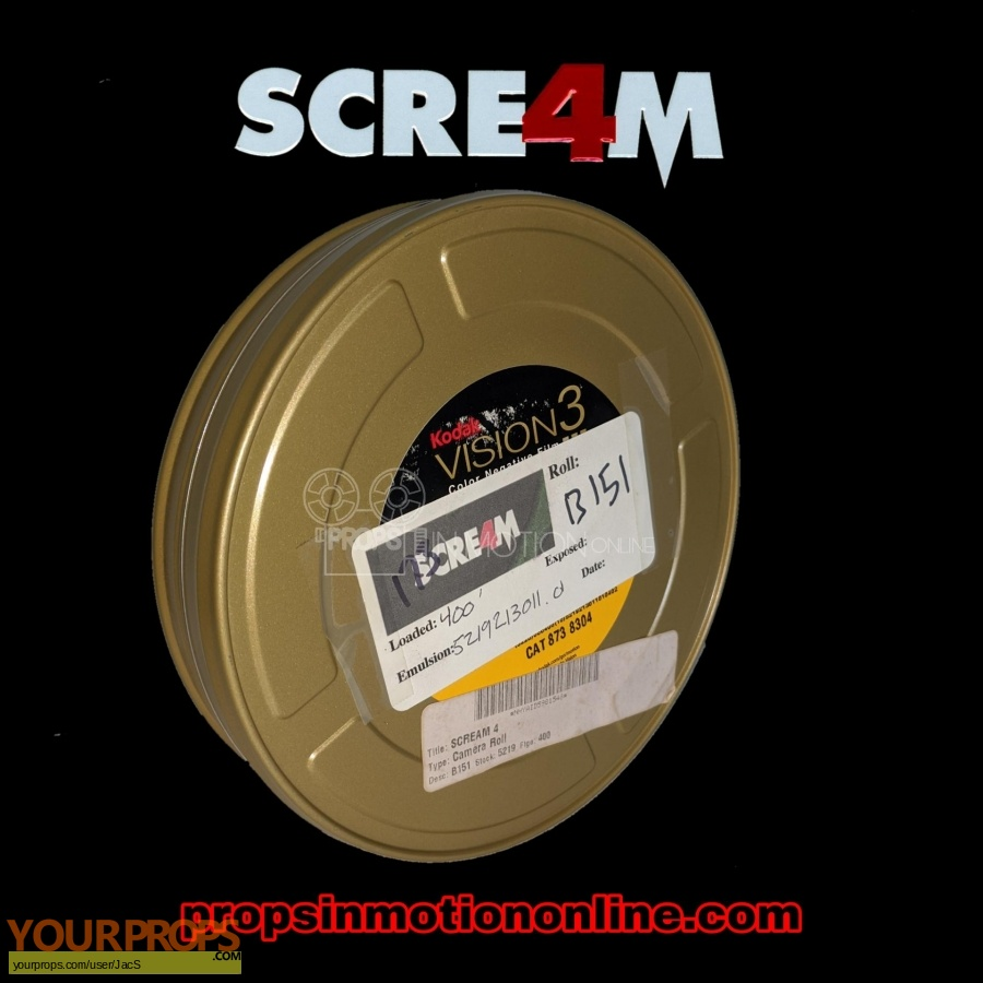 Scream 4   Scre4m original production material