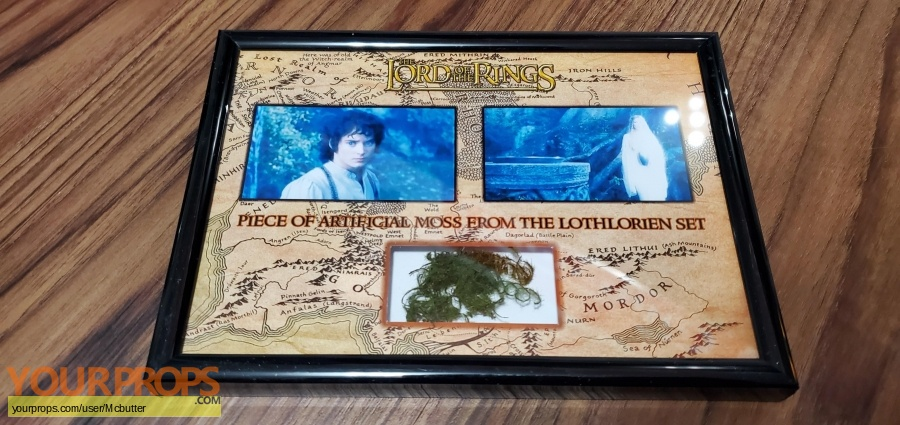 Lord of The Rings  The Fellowship of the Ring original set dressing   pieces