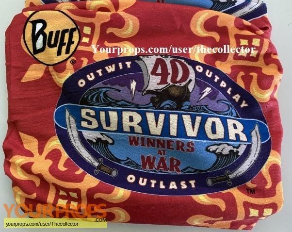 Survivor Winners at War original movie prop