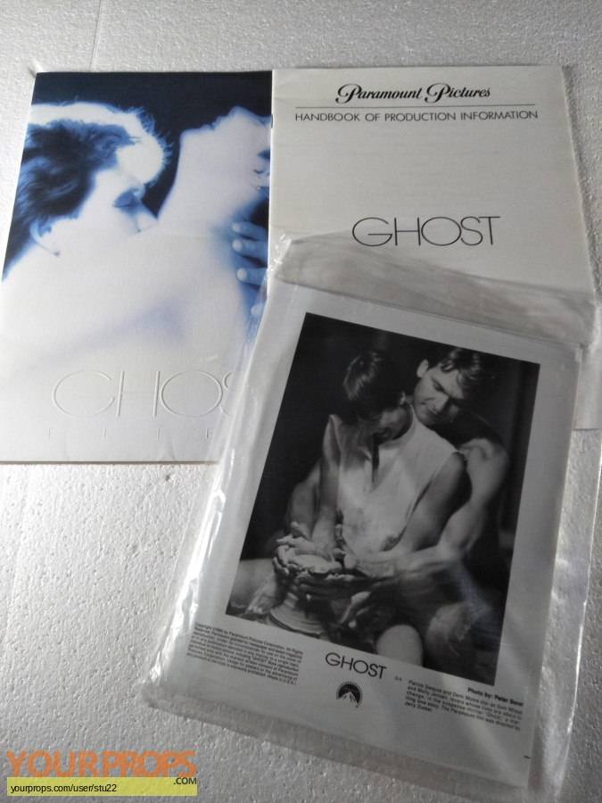 Ghost original production material