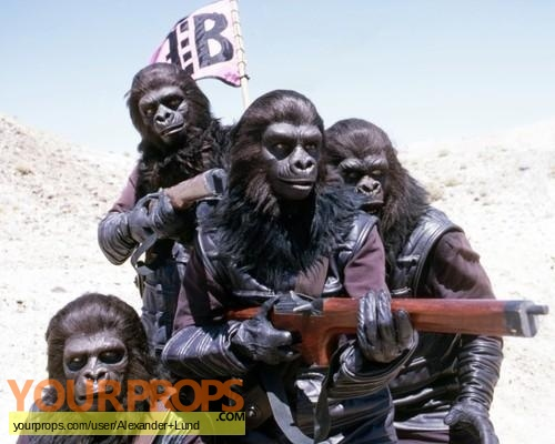 Beneath the Planet of the Apes original movie prop