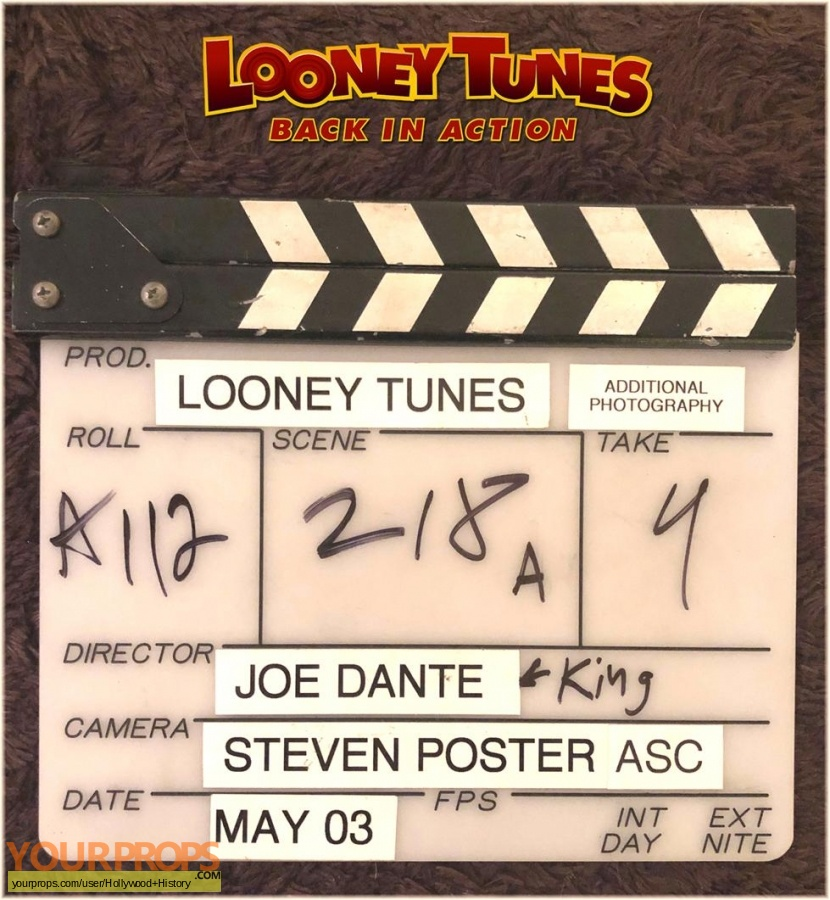 Looney Tunes  Back in Action original production material