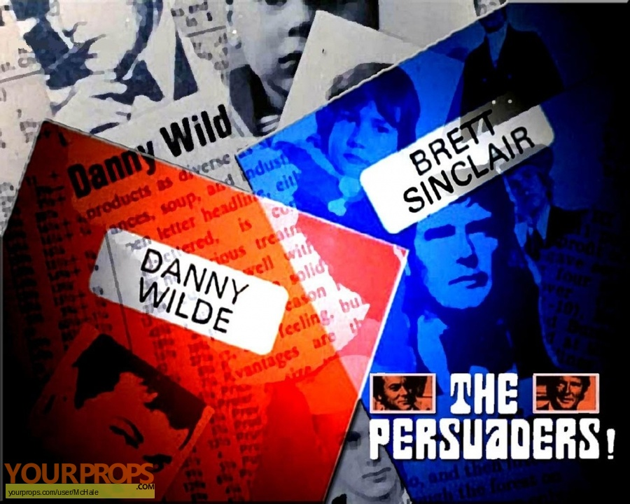 The Persuaders   replica movie prop