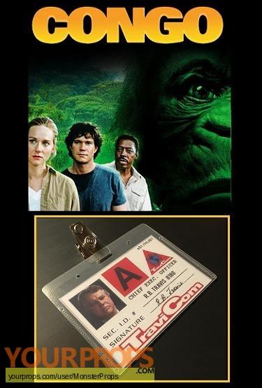 Congo replica movie prop