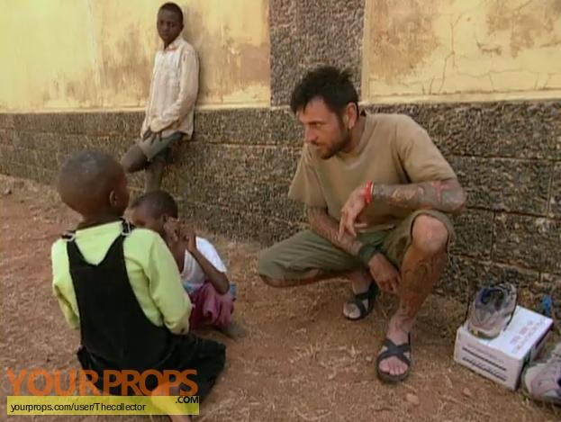 Survivor Africa original movie prop