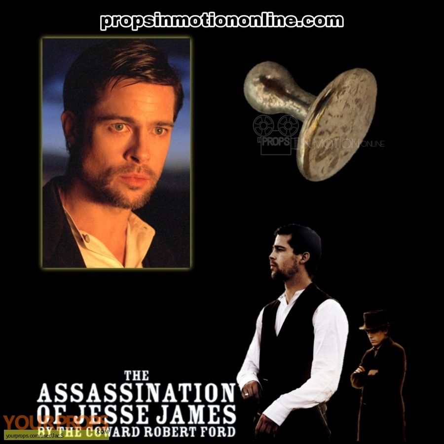 The Assassination of Jesse James by the Coward Robert Ford original movie prop