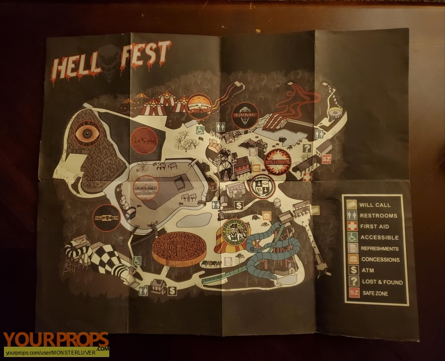Hell Fest original production material