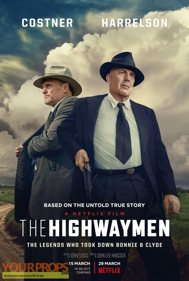 The Highwaymen (TV Netflix ) original movie prop