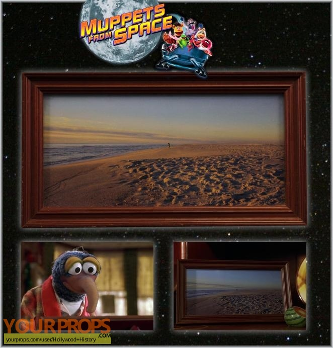Muppets from Space original movie prop