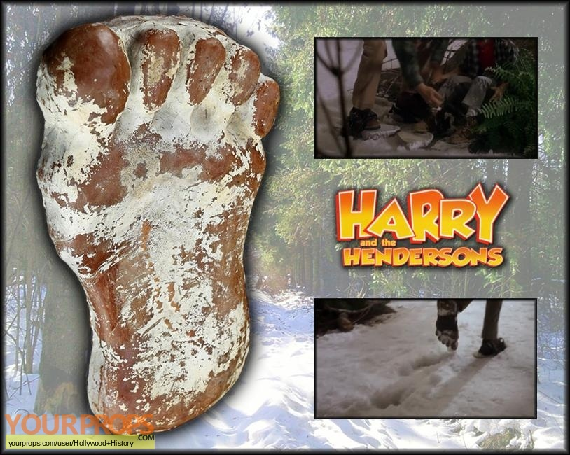 Harry and the Hendersons original movie prop