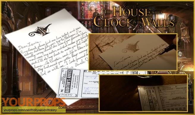 The House with a Clock in Its Walls original movie prop