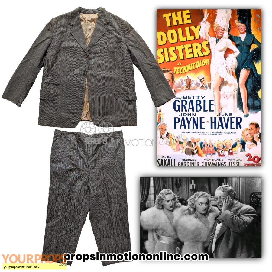 The Dolly Sisters original movie costume