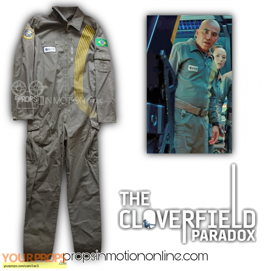 Cloverfield Paradox original movie costume
