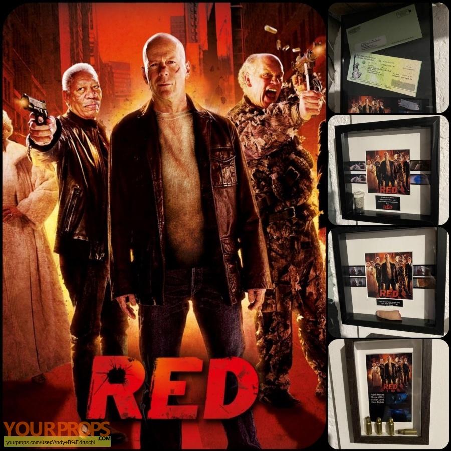 Red original movie prop