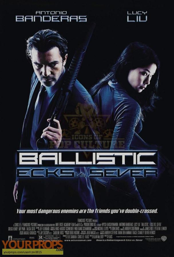 Ballistic  Ecks vs  Sever original movie costume
