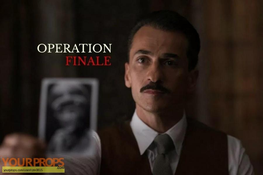Operation Finale 2018 original movie prop